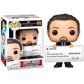 FUNKO POP figure Marvel Spiderman Far From Home Happy Hogan (472)