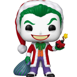 FUNKO POP figure DC Holiday Santa Joker (358)