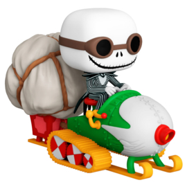 FUNKO POP figure Nightmare Before Christmas Jack with Goggles & Snowmobile (104)