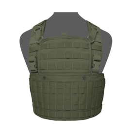 Warrior Elite Ops MOLLE 901 Chest Rig Base with Zip (OLIVE DRAB)