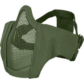 VIPER Gen2 Crossteel Face Mesh Mask (GREEN)