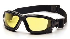 PYRAMEX I-Force Slim Goggle Dual Anti-Fog Lens (Class 3) - AMBER