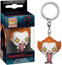 FUNKO Pocket POP keychain IT Chapter 2 Pennywise with Dog Tongue