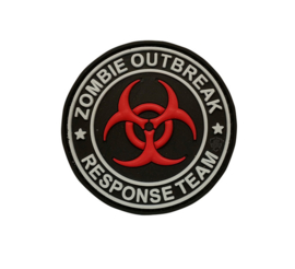 5-Star PVC MORALE PATCH - ZOMBIE OUTBREAK