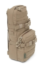 Warrior Elite Ops MOLLE Cargo Pack  8L - with Hydration (WATER) Pocket/Compartment (COYOTE TAN)