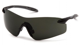 PYRAMEX Intrepid II Glasses (Class 1) - SMOKE GREEN