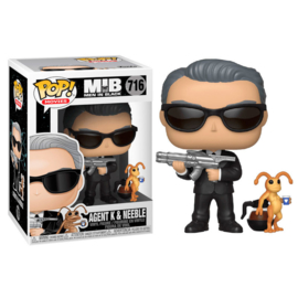 FUNKO POP figure Men In Black Agent K & Neeble (716)