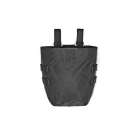 Warrior Elite Ops MOLLE Large Roll Up Dump Pouch Gen2 (BLACK)