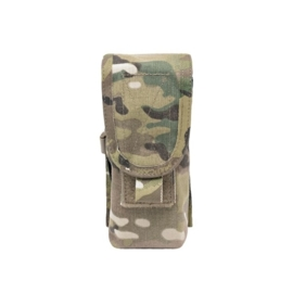 Warrior Elite Ops MOLLE Single M4 5.56mm 90 Round Mag / Non Slip Retention - 3 Mags (MULTICAM)