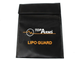 TOPARMS Safety fireproof bag for Li-Pol / Li-Ion battery charging, 18x23 cm