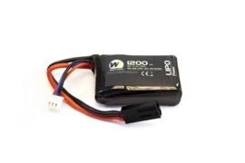 NUPROL 1200mah 7.4v Lipo 30c PEQ15 Micro Type
