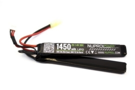 NUPROL 1450mah 7.4v Lipo 30c Nunchuck Type Battery