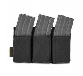Warrior Elite Ops MOLLE Triple Elastic Mag (BLACK)