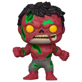 FUNKO POP figure Marvel Zombies Red Hulk (790)