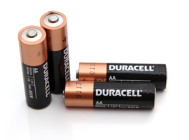 AA DURACELL Penlite Power Alkaline Battery  - 4pcs