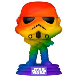 FUNKO POP figure Star Wars Pride Stormtrooper Rainbow (296)