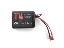Titan 2600mAh 11.1V Brick Deans (T-Plug)