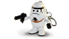 Disney Star Wars Stormtrooper Mr. Potato Head keychain / ring