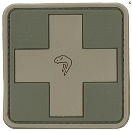 VIPER MEDIC RUBBER PATCH (GREEN)