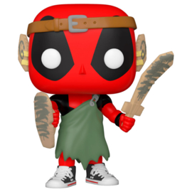 FUNKO POP figure Marvel Deadpool 30th L.A.R.P. Deadpool (780)