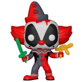 FUNKO POP figure Marvel Deadpool Parody Deadpool Clown (322)