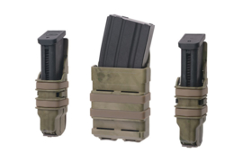 FMA FAST Magazine Holster Set for 5,56 and 9mm magazine - ATC FG