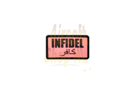 JTG Infidel Rubber Patch (PINK)
