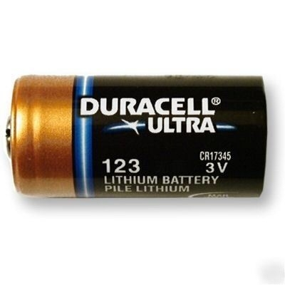 DURACELL CR123A 3V ULTRA Lithium Battery - 1pcs