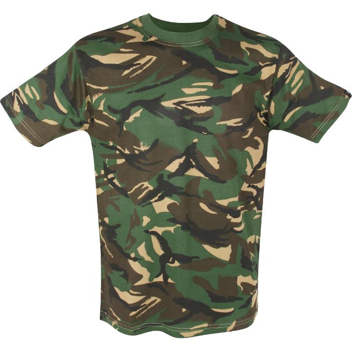 MIL-COM Kids T-Shirts - Camo