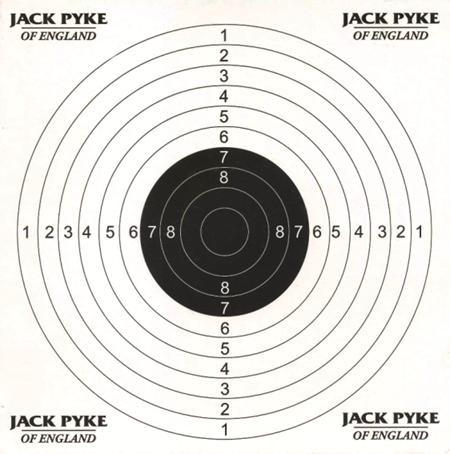 JACK PYKE PAPER TARGETS (100Pcs)