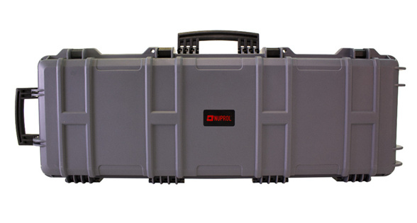 NUPROL Large Rifle Hard Case - PnP Foam (GREY)