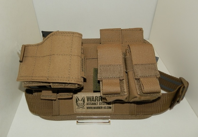Warrior Elite Ops MOLLE Sabre Leg Rig MK2 - RIGHT HANDED HOLSTER (COYOTE TAN)