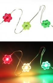 ledverlichting bloemen | rood/geel/groen