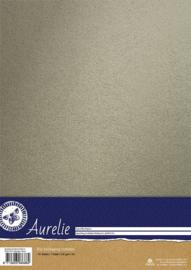 Aurelie Sparkling Cardstock Platinum