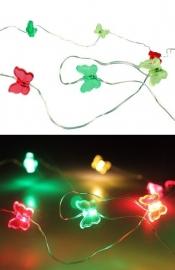 ledverlichting vlinders | rood/geel/groen