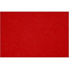 vilt 3mm   rood 42 x 60 cm