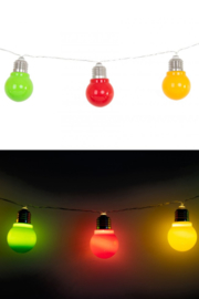 lichtsnoer E27 10 lamps
