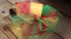 tule lint | rood/geel/groen