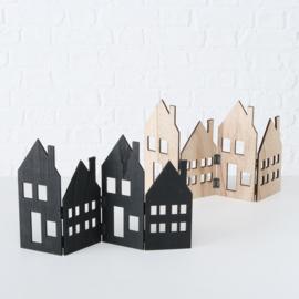 set houten huisjes