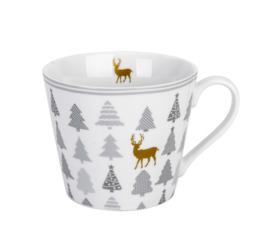 Happy cup |christmas trees krasilnikoff