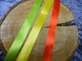 satijnband | rood/geel/groen