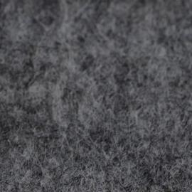 vilt donker grijs 2mm 30,5 x 30,5 cm