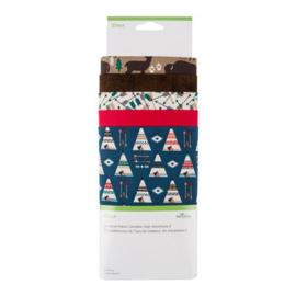 Designer Fabric Sampler   high adventure incl. stofpen