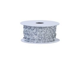 sierlint ribbon zilver 7 mm