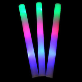led foam stick | multicolour