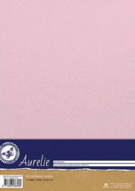 Aurelie Elegant Shimmering Cardstock Baby Pink