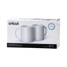 cricut mug wit 2 stuks 12oz