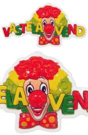 clowndecoratie vastelaovend