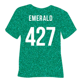 poli-flex pearl glitter | emerald