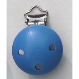 speenclip midden blauw